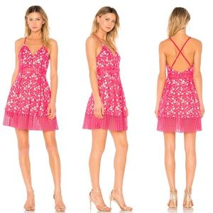 Lovers + Friends Bellini Floral Lace Dress
